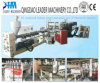 with UV Coating PC Plastic Hollow Grid Sheet Making Machine
