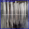 1.6m Galvanized Steel Ground Screw for for Flag Pole
