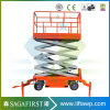 10m Semi Electric Mobile Scissor Lift Platform Scissor Lifter