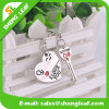 High Quality Metal Cap Key Chain with Changeable Logo (SLF-MK009)