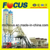 Hot-Selling Wet Mix Lift Hopper Concrete Batching Plant Hzs75