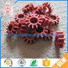 Custom Hard Nylon Plastic Vane Gear Wheel Impeller
