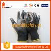 Ddsafety 2017 Black Nitrile Coating 13 Gauge Black Nylon Shell, Working Glove