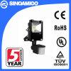 10W LED Flood Light with PIR Motion Sensor (SFLED2-010)