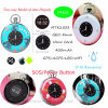 Waterproof Mini/Tiny Portable GPS Tracker for Child/Personal with Colock Pm03