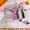 Real Estate Promotional Gifts Metal House USB Pendrive (YT-1245)