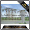Exterior Decorative Powder Coated Cast Metal Aluminum Garden Fence