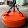 Circular Type Magnetic Lifter on Crane for Lifting Scraps