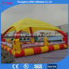 Inflatable Pool Cover Inflatable Water Pool with Tent