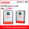 Pure Sine Wave Output Solar Inverters with Parallel Operation up to 6 Units for Ssp3119c 5kw