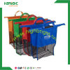 Wholesale Supermarket Polyester Nylon Reusable Foldable Folding Vegetable Shopping Bag