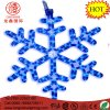 "LED 16"" Snowflake Blue Flashing Mounting Hanging Rope Motif Chritmas Light"