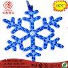 """LED 16"""" Snowflake Blue Flashing Mounting Hanging Rope Motif Chritmas Light"""