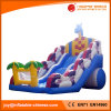 Cheap Giant Inflatable Jungle Wave Slide for Sale (T4-620)
