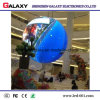 Indoor Soft/Flexible/Bendable Fixed Round /Circle LED Display Screen P2.98/P3.91 for Advertising/Decoration Commercial Streets, Stores, Hotels
