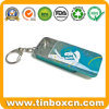 Small Sliding Tin for Mint with King-Ring, Slide Gum Tin Box