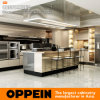 Oppein Modern Colored High Quality Stainless Steel Kitchen Cabinet with Island (OP17-ST01)
