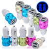 Dual USB 2 Port Car Charger Adapter for iPhone 6 6s