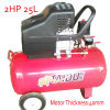 2HP 25L Direct Driven Piston Screw Air Compressor