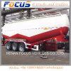 Tri Axles 60 Cbm Air Compressor Bulk Cement Tanker Semi Trailer