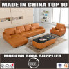 Modern L Shape Leather Sofa Set (Lz706)