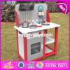 New Design Children Pretend Play Wooden Toy Kitchen Set W10c292