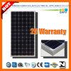 190W 125mono Silicon Solar Module with IEC 61215, IEC 61730