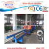 PE PVC Single Wall Corrugated Pipe Production Line