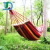 Double Person Hammock Camping Outdoor Portable Travel Cotton Hammock