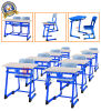 High Quality Student Double Wooden Desk & Chair (SF-32D)