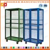 Warehouse Stackbale Folding Storage Wire Security Roll Cage Container (Zhra45)