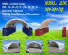 PVC PE Farm Storage Shelter Container Tent 2015 on Sale