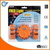 3 Pack LED Road Flare Flashing Warning Light