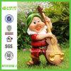 Cellist Garden Gnome Resin Figurine (NF13159A-1)