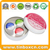 Vaseline Retro Lip Round Metal Gift Tin Case for Cosmetics