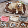 Fashion Wholesale Soft Plsush Pet Bed Puppy Cat Dog Pet Cushion Bed
