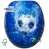 High Quality Designer Novelty Printed MDF Toilet Seat