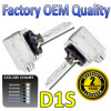 2PCS Auto HID Xenon Bulb D1s Ceramic Chassis, Car Styling HID Bulbs for Headlight 2X D1s 35W OEM HID Lamps Replacement D1s D1r D2s D4s