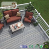 2017 Popular Outdoor Fast Installation WPC Gray Composite Deck Boards