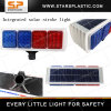 Economic Red and Blue Solar Strobe Warning Light