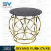 Home Furniture Glass Table Gold Side Table French Side Table