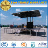 Small Forland Outdoor LED Performing Truck with Extendable Stage