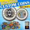 Wholesale Custom Coins! Factory Price! Competitive Freight Charge! Free Design! No MOQ!