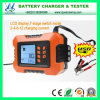 12A 12V Battery Charger Car Battery Tester with LCD (QW-6859U)