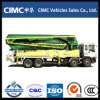 Cimc 45m Concrete Pump Truck with Isuzu Chassis