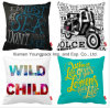 Fashion Decorative Custom Printing Cotton Linen Sofa Throw Cushion Pillow Case