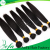 Natural Black Indian Straight Virgin Human Hair for Beautiful Ladies