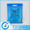 Custom Tranparent Plastic Bags with Hand-Hole for Shirt Packaging