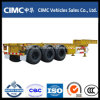 Cimc 40 FT Gooseneck Container Skeleton Semi Trailer