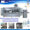 Complete Pure Water Bottle Packing / Filling Machinery